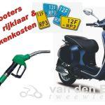 rijklaarkosten scooters bromfietsen 2017