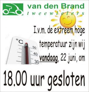 hoge temperatuur