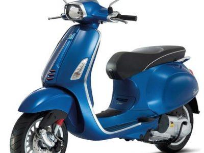 Vespa Sprint Blauw 4
