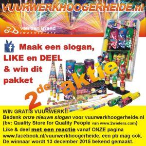 2de aktie slogan gratis pakket