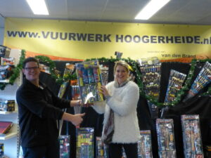 winnaar 2de vuurwerk pakket facebook