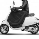 Beenkleed Vespa Primavera Sprint zwart wit accessoires