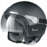 helm Vespa zwart wit accessoires