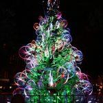 kerstboom fiets