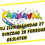 carnaval 2017 van den brand