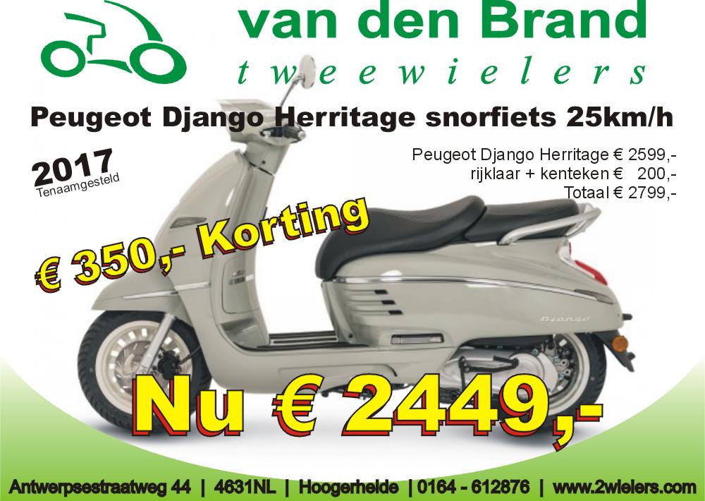 2018 Peugeot Django herritage Euro2