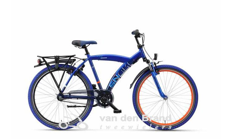 Snake-26-blauw