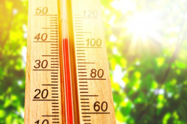 hoge temperatuur hittegolf